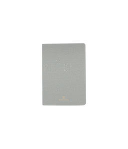 APPOINTED LINEN JOTTER GREY (GRID)