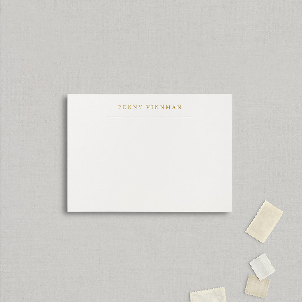 Penny Personalized Stationery for TESTING