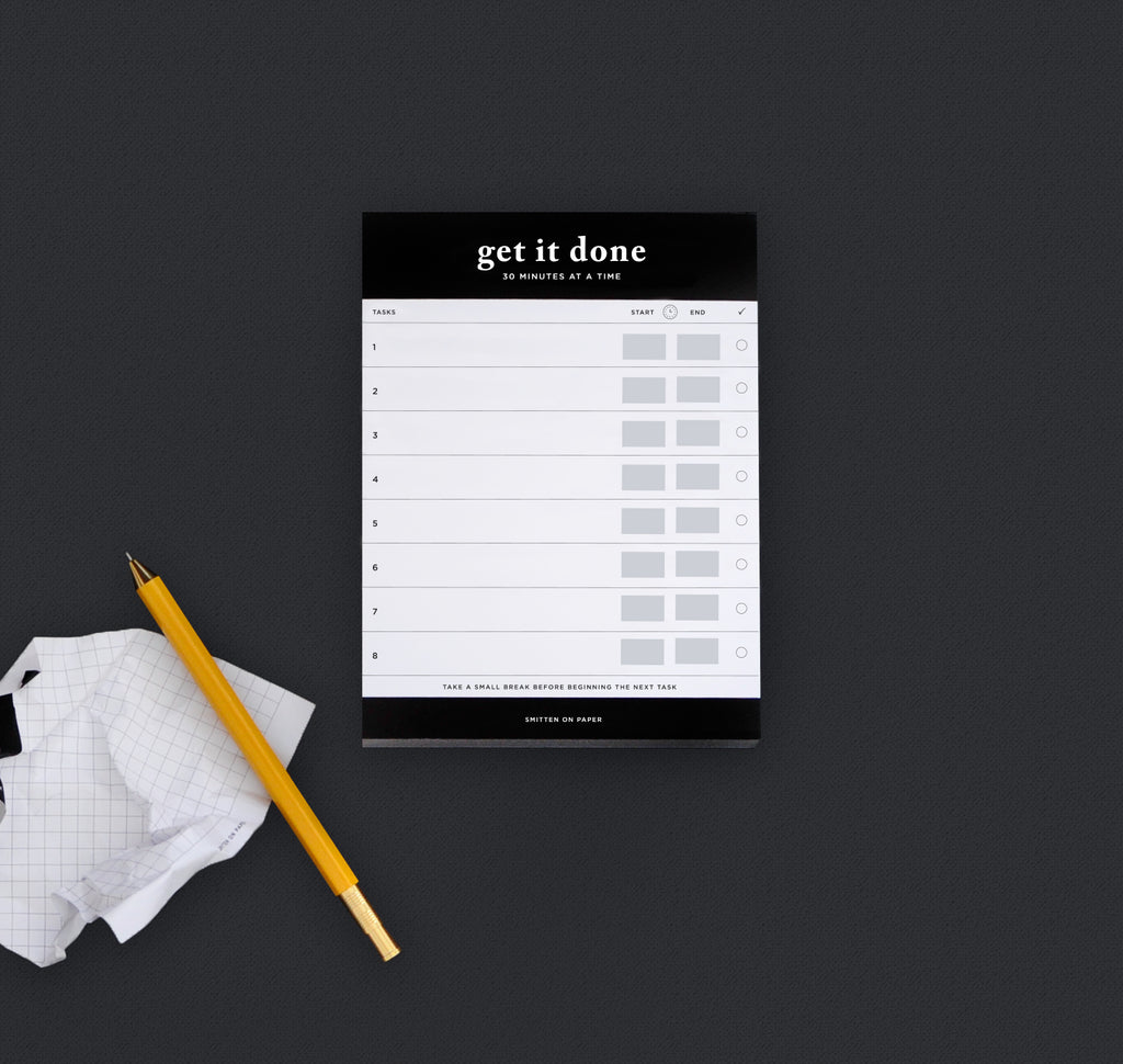 Get It Done Chunky Notepad