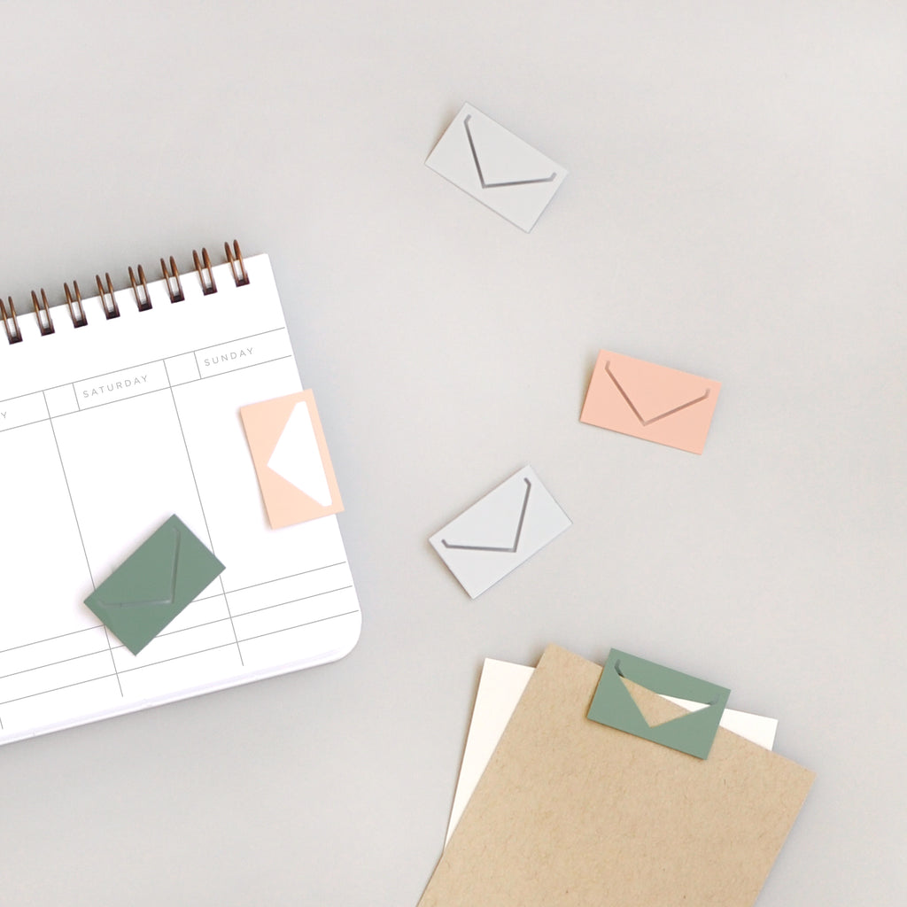 Small Envelope Paperclips