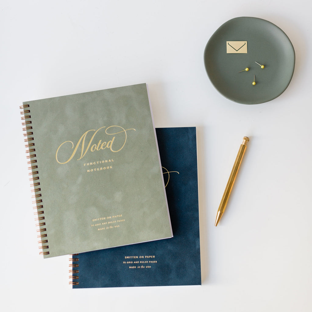 Velvet Notebook Denim