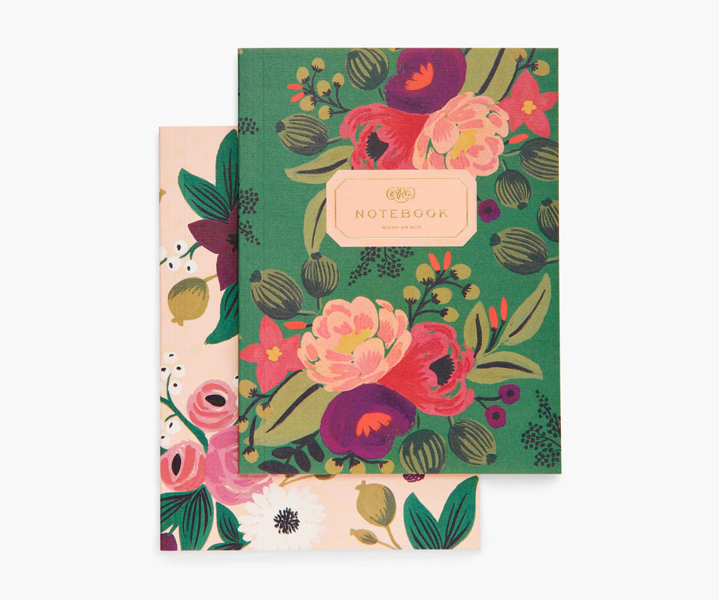 Rifle 2 Notebooks Vintage Blossoms