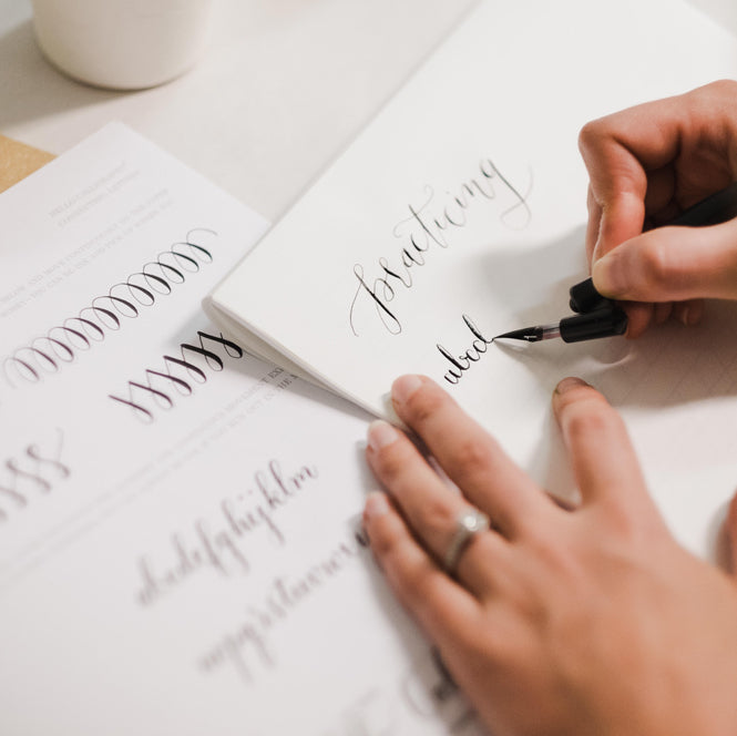 OCTOBER 13TH: Beginner's Modern Calligraphy with Angelique Ink