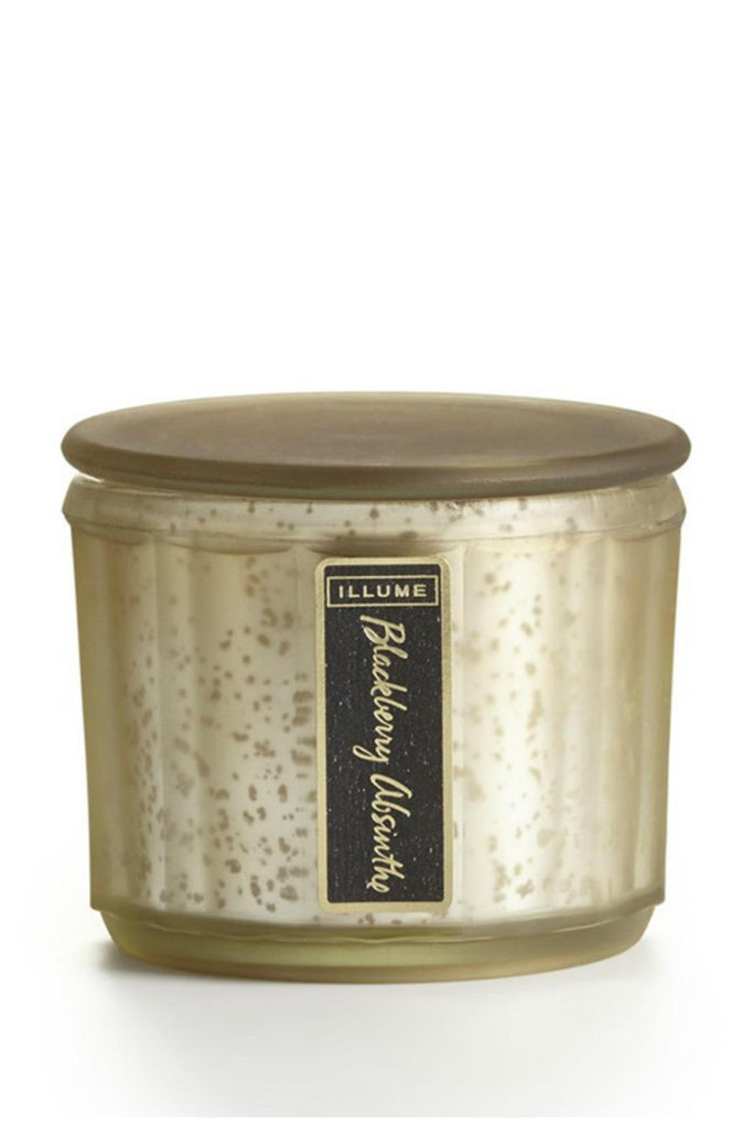 Illume Blackberry Absinthe Demi Lustre Jar Candle