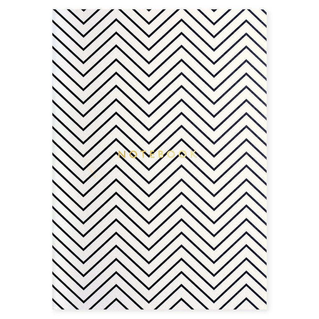 KATIE LEAMON- LUXURY NOTEBOOK (ZIG ZAG)