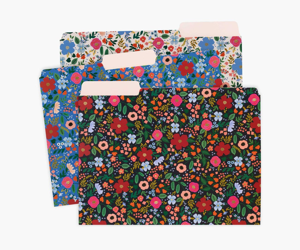 Rifle Wild Rose File Folder