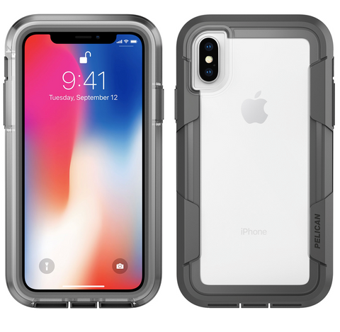 Voyager - iPhone X (Clear/Grey)