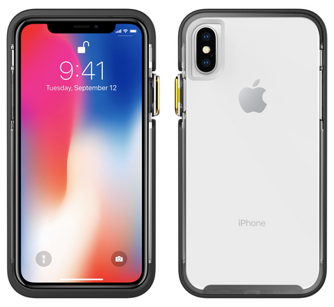 Ambassador - iPhone X / Xs (Clear/Black/Gold)
