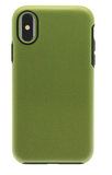 Dual Layer Protective Case - iPhone X (Dark Green/Black)