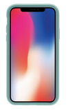 Dual Layer Protective Case - iPhone X (Light Blue)