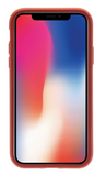Dual Layer Protective Case - iPhone X (Red)