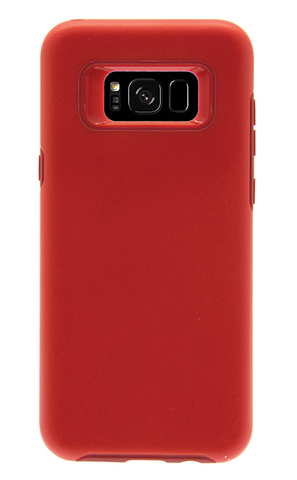 Dual Layer Protective Case - Galaxy S8 (Red)