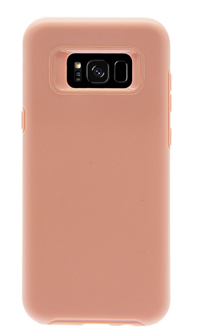 Dual Layer Protective Case - Galaxy S8 (Rose Gold)