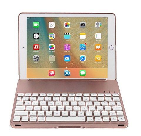 Bluetooth Keyboard - iPad 9.7/Air (Rose Gold)