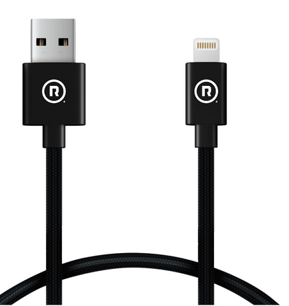 Hercules Charge to Sync - USB to Lightning (Black) - Other lengths available