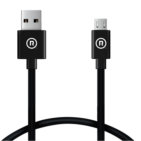 Hercules Charge to Sync - 1m USB to Micro USB (Black)