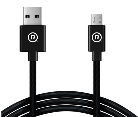 Hercules Charge to Sync - 3m USB to Micro USB (Black)