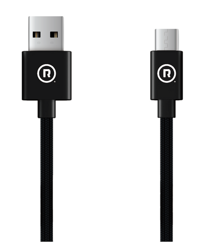 Hercules Charge to Sync - 50cm USB to Type C (Black)