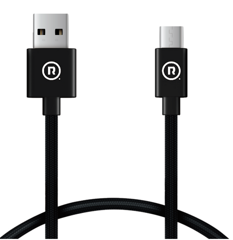 Hercules Charge to Sync - 1m USB to Type C (Black)