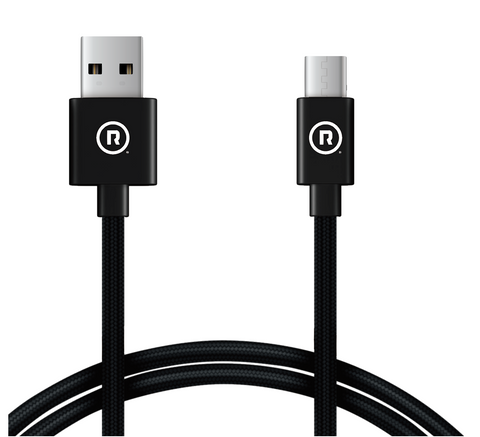 Hercules Charge to Sync - 2m USB to Type C (Black)