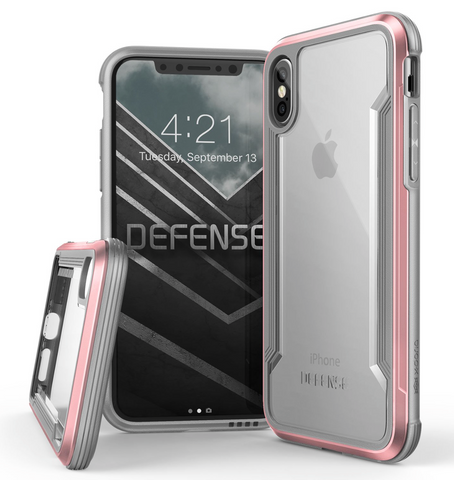 Defense Shield - iPhone X (Rose Gold)