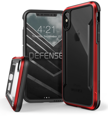 Defense Clear - iPhone X / Xs (Orange)