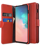 MELKCO WALLET BOOK SERIES LAI CHEE PATTERN PREMIUM LEATHER CASE S10/ S10+/ S10 LITE