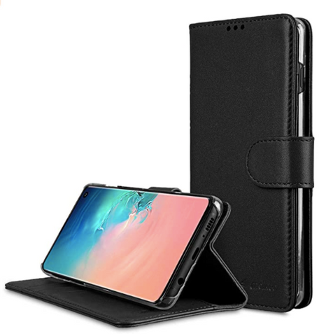 MELKCO WALLET PREMIUM LEATHER CASE SAMSUNG S10 / S10+/ S10e