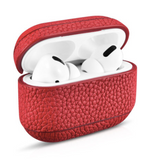 TPP GENUINNE LEATHER CASE LYCHEE FOR AIRPODS PRO