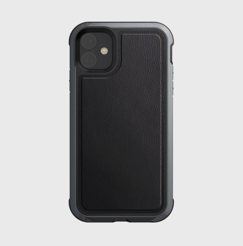 X-doria iPhone 11 Defense Lux BLACK LEATHER