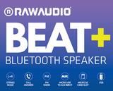 BEAT + BLUETOOTH SPEAKER - RAWAUDIO