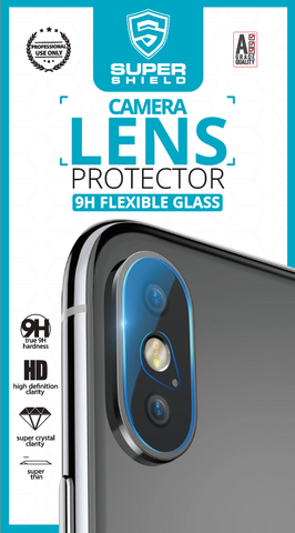 SUPER SHIELD CAMERA LENS PROTECTOR (9H Flexible Glass)