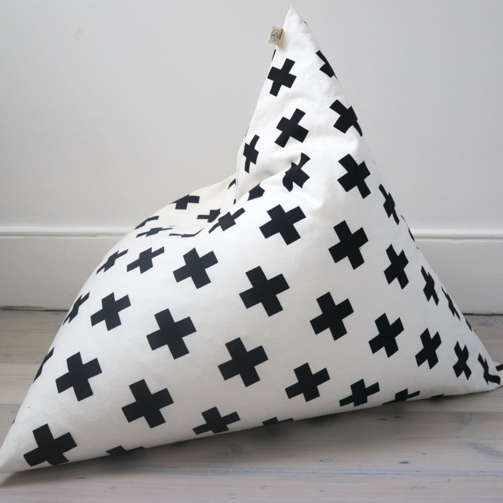 Amazing Cross Pyramid Bean Bag Inzonedesignstudio Interior Chair Design Inzonedesignstudiocom