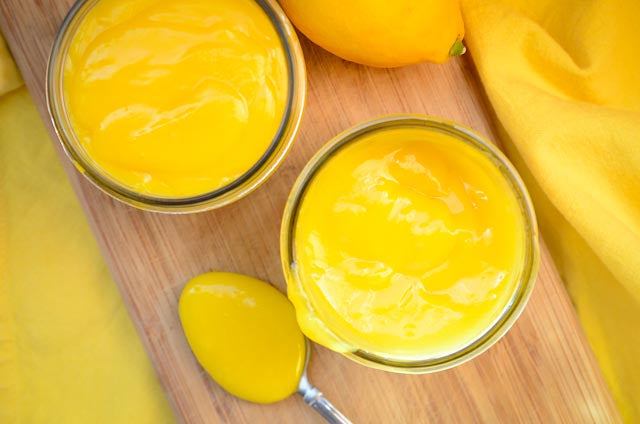 Honey Meyer Lemon Curd