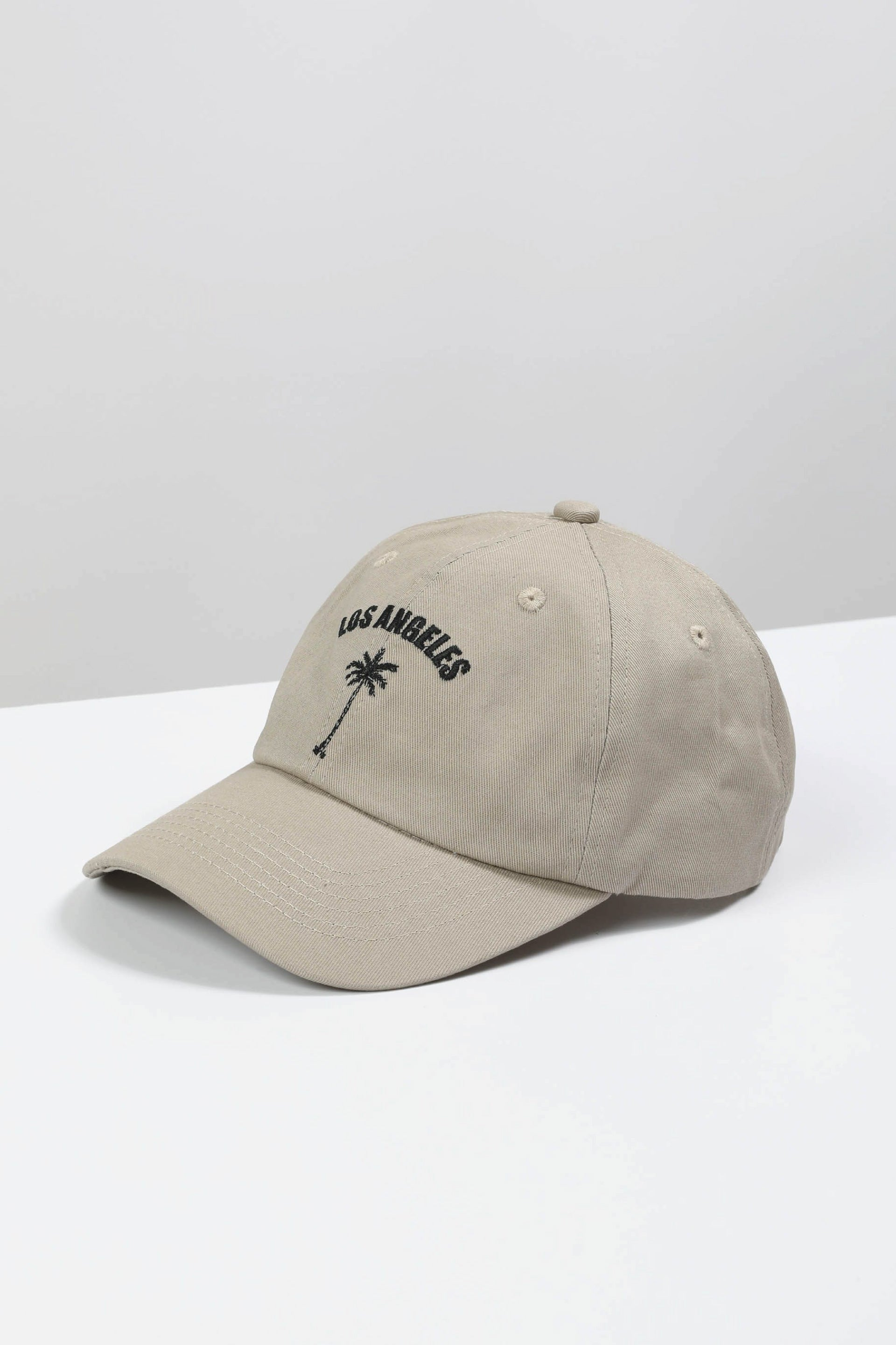 Los Angeles Beige Dads Cap