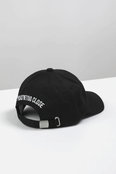 New Yorker Black Dads Cap