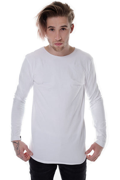 T - Shirt Long White
