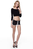 W Runner Shorts Black