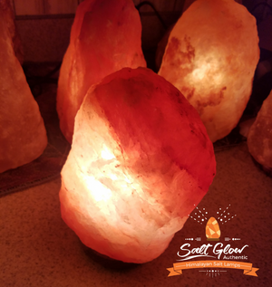 SALT GLOW Himalayan Salt Lamps 2 for 50!
