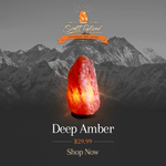 Deep Amber Himalayan Salt Lamp