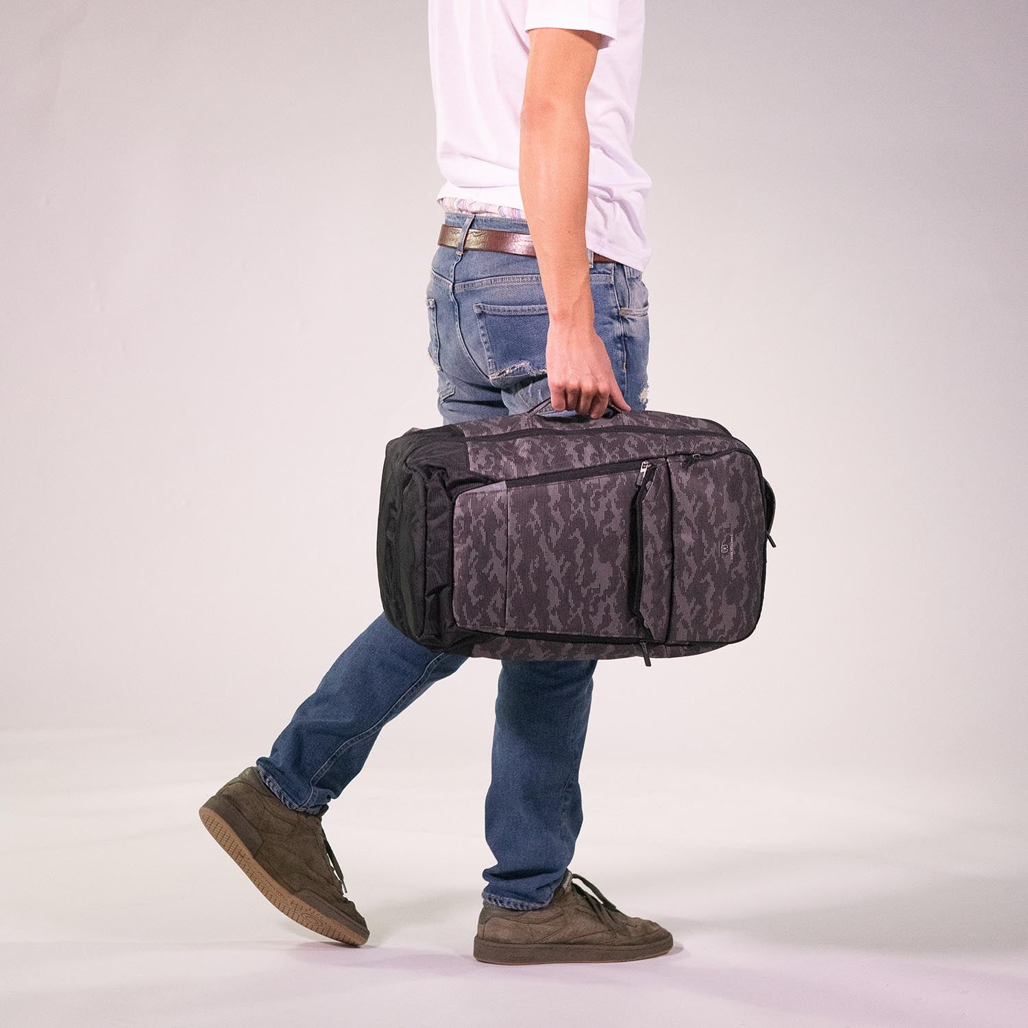 Loop Two-in-One Duffle Backpack|Link Collection|Hedgren