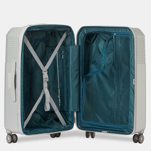 Stripe M Companion Travel Suitcase|Lineo Collection|Hedgren
