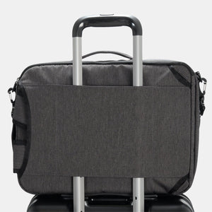 "Hedgren FOCUSED Three Way Briefcase Backpack 15.6"" RFID"