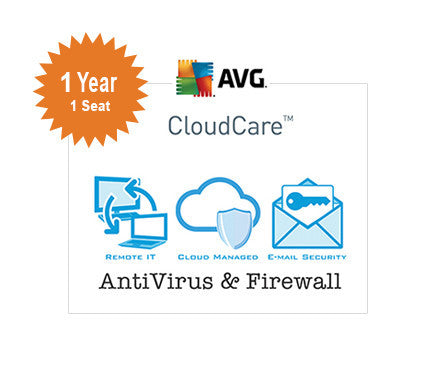 AVG CloudCare - 1 Year 1-Seat