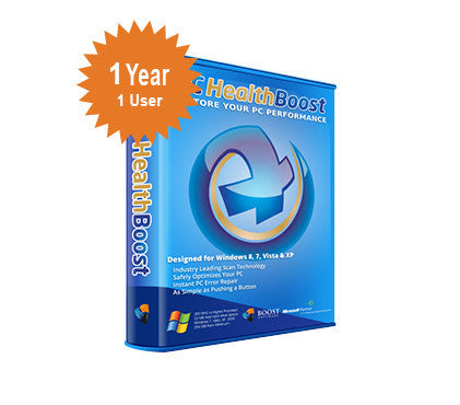 Boost Software PC HealthBoost Premium - 1-Year 1-User