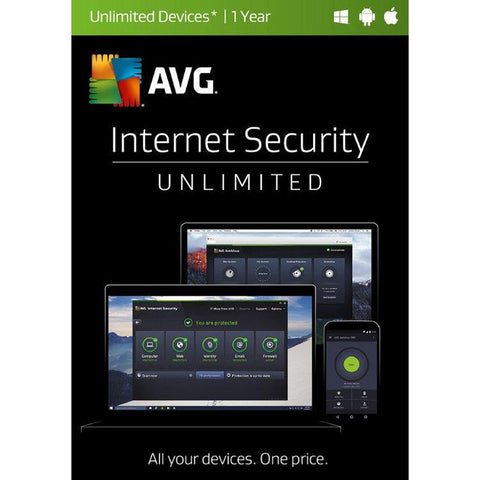 AVG Internet Security 2017, 1 Year