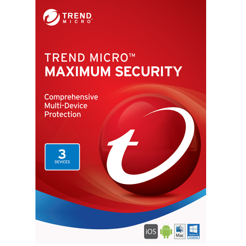 Trend Micro Maximum Security (2020) - 2-Year / 3-Device