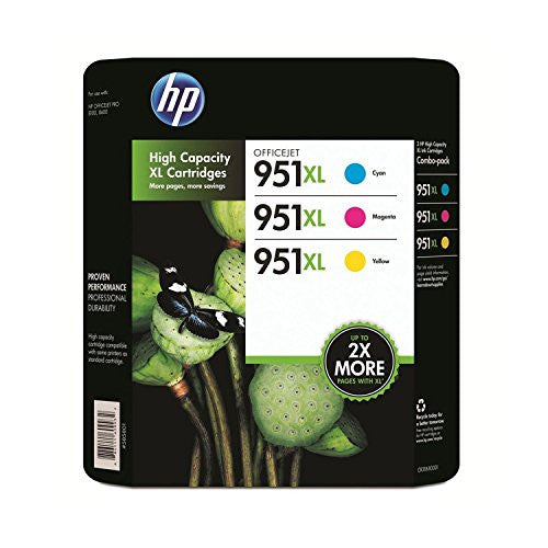 HP 951XL Color Ink Cartridge - Combo Pack by Lexmark