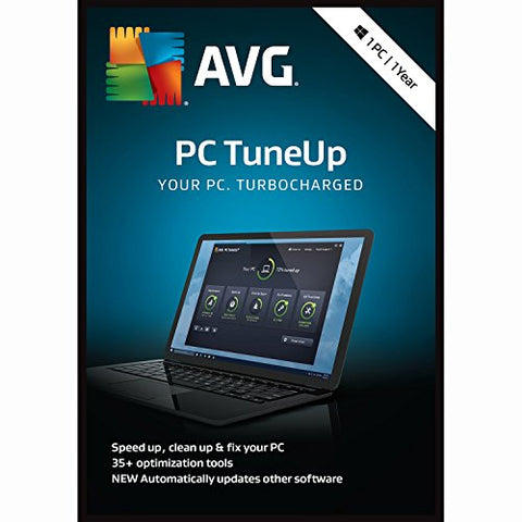AVG Technologies PC TuneUp 2018, 1 User, 1 Year [KEY CARD]