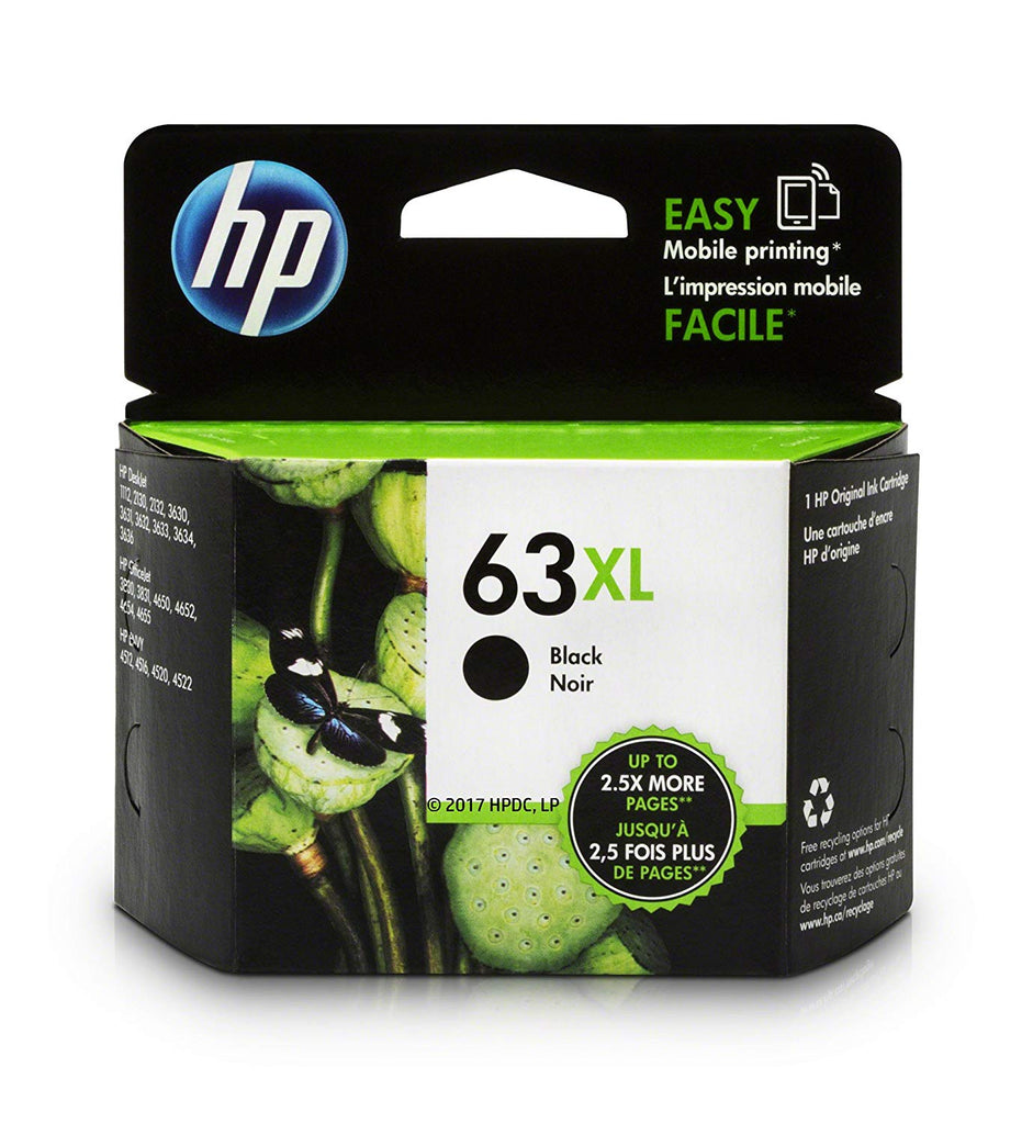 HP officejet 5255 63 XL cartridges